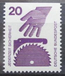 Poštovní známka Nìmecko 1974 Prevence nehod Mi# 696 C