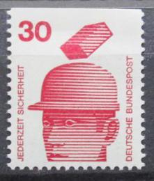 Poštovní známka Nìmecko 1974 Prevence nehod Mi# 698 C