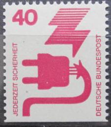 Poštovní známka Nìmecko 1974 Prevence nehod Mi# 699 D
