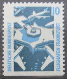 Poštovní známka Nìmecko 1988 Letištì Frankfurt Mi# 1347 D