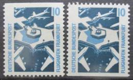 Poštovní známky Nìmecko 1988 Letištì Frankfurt Mi# 1347 C-D