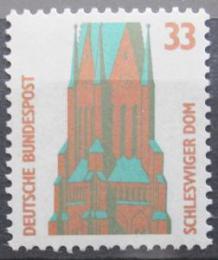 Poštovní známka Nìmecko 1989 Šlesvická katedrála Mi# 1399