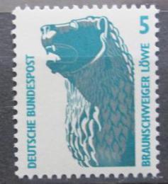 Poštovní známka Nìmecko 1990 Brunšvický lev Mi# 1448