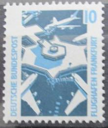 Poštovní známka Nìmecko 1988 Letištì Frankfurt Mi# 1347 A