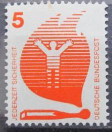 Poštovní známka Nìmecko 1971 Prevence nehod Mi# 694 A