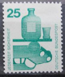 Poštovní známka Nìmecko 1971 Prevence nehod Mi# 697 A