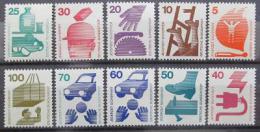 Poštovní známky Nìmecko 1971-73 Prevence nehod Kat 11€