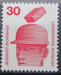 Poštovní známka Nìmecko 1972 Prevence nehod Mi# 698 A