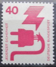 Poštovní známka Nìmecko 1972 Prevence nehod Mi# 699 A