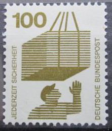 Poštovní známka Nìmecko 1972 Prevence nehod Mi# 702 A