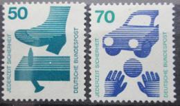 Poštovní známky Nìmecko 1973 Prevence nehod Mi# 700,773 Kat 4€