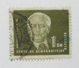 Poštovní známka DDR 1950 Prezident Wilhelm Pieck Mi# 253 Kat 8€