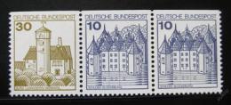 Poštovní známky Nìmecko 1977 Hrady a zámky