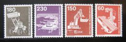 Poštovní známky Nìmecko 1978-79 Prùmysl a technika Mi# 990-94 Kat 11€