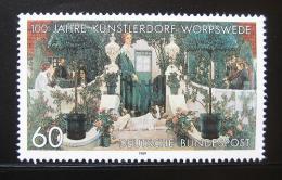 Poštovní známka Nìmecko 1989 Letní veèer, Vogler Mi# 1430