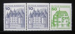 Poštovní známky Nìmecko 1980 Hrady a zámky