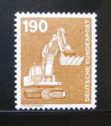 Poštovní známka Nìmecko 1982 Bagr Mi# 1136