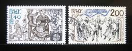 Poštovní známky Francie 1981 Evropa CEPT Mi# 2259-60