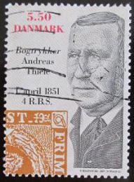 Poštovní známka Dánsko 2001 Andreas Thiele, tiskaø Mi# 1274