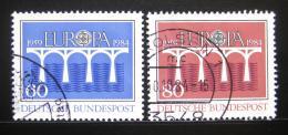 Poštovní známky Nìmecko 1984 Evropa CEPT Mi# 1210-11
