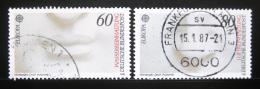 Poštovní známky Nìmecko 1986 Evropa CEPT Mi# 1278-79