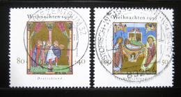 Poštovní známky Nìmecko 1996 Vánoce Mi# 1891-92