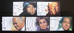 Poštovní známky Nìmecko 2000 Herci a hereèky Mi# 2143-47 Kat 12€