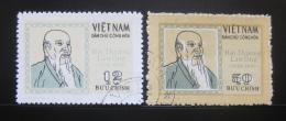 Poštovní známky Vietnam 1971 Hai Thuong Lan Ong, lékaø Mi# 658-59