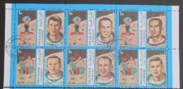 Poštovní známky Šardžá 1972 Apollo 7 a 8 Mi# 1338-43