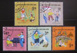 Poštovní známky Vietnam 1970 Dìtské aktivity