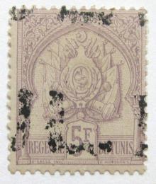 Poštovní známka Tunisko 1889 Státní znak Mi# 17 Kat 85€