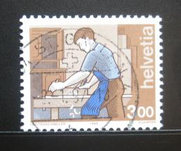 Poštovní známka Švýcarsko 1994 Truhlář Mi# 1533 - zvětšit obrázek
