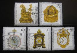 Poštovní známky Nìmecko 1992 Antické hodiny Mi# 1631-35 Kat 10€