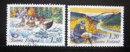 Poštovní známky Finsko 1983 NORDEN, severská spolupráce Mi# 922-23