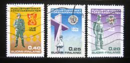 Poštovní známky Finsko 1968 Národní obrana Mi# 644-46