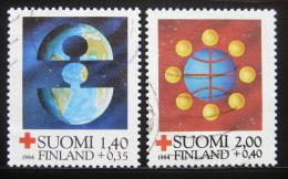 Poštovní známky Finsko 1984 Èervený køíž Mi# 946-47