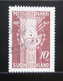 Poštovní známka Finsko 1947 Poštovní spoøitelna Mi# 335