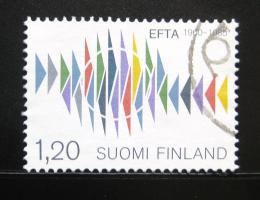 Poštovní známka Finsko 1985 EFTA, 25. výroèí Mi# 954