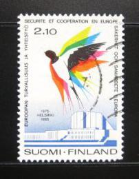 Poštovní známka Finsko 1985 Konference bezpeènosti Mi# 970
