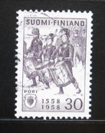 Poštovní známka Finsko 1958 Bjorneborg, 400. výroèí Mi# 491