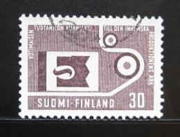 Poštovní známka Finsko 1962 Pokrok ve výrobì Mi# 554