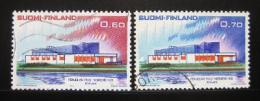 Poštovní známky Finsko 1973 Severská spolupráce Mi# 724-25