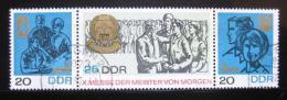 Poštovní známky DDR 1967 Mistøi zítøka Mi# 1320-22 Kat 8€