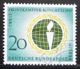 Poštovní známka Západní Berlín 1957 Federace veteránù Mi# 177