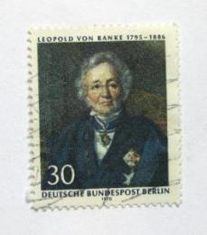 Poštovní známka Západní Berlín 1970 Leopold von Ranke, historik Mi# 377