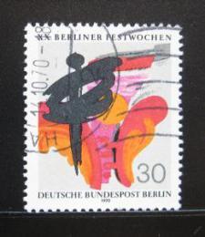 Poštovní známka Západní Berlín 1970 Berlínský festival Mi# 372 - zvětšit obrázek