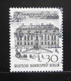 Poštovní známka Západní Berlín 1968 Nejvyšší soud Mi# 320