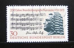 Poštovní známka Západní Berlín 1971 Johann Sebastian Bach Mi# 392 - zvětšit obrázek