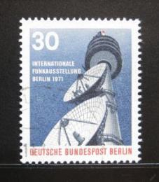 Poštovní známka Západní Berlín 1971 Telekomunikace Mi# 391
