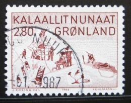 Poštovní známka Grónsko 1986 Ilustrace, Aninaaq Mi# 167